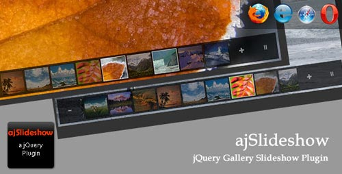 ajSlideshow: A jQuery Gallery Slideshow Plugin