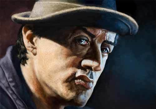 20 Courageous Illustrations of Rocky Balboa