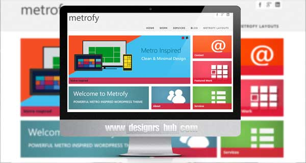 Metrofy WP - Responsive Multi-Page & One-Page Theme