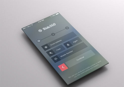 25 iOS 7 App Designs, Concepts and Redesigns