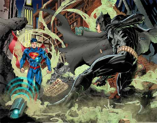 Batman Vs Superman Artwork