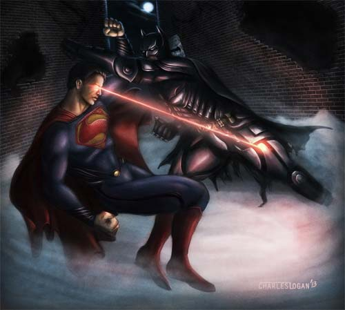 Superman vs. Batman Artwork
