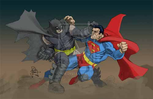 Dark Knight vs Superman
