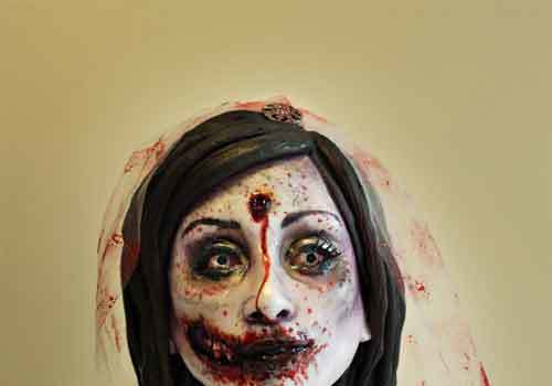 Halloween Decorating Ideas: 20 Zombie Cake Designs