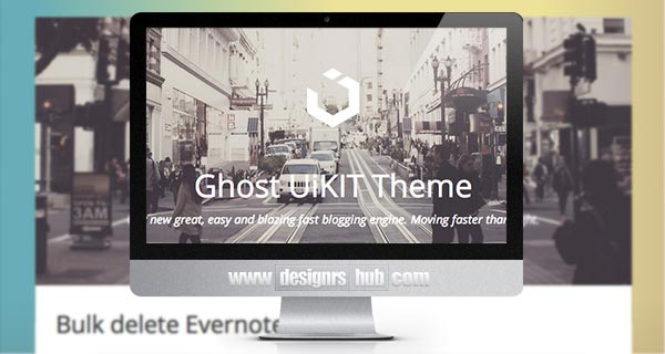 Ghost Blog Theme based on UIKit