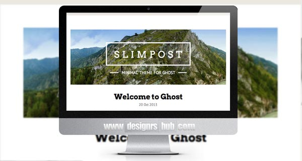 Slimpost - Minimal theme for Ghost