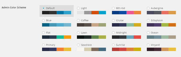 Change the Color Scheme of Admin Dashboard in WordPress 3.8