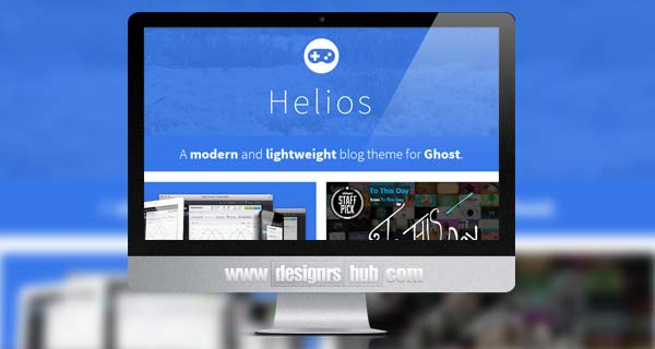 Helios - Modern Responsive Theme for Ghost