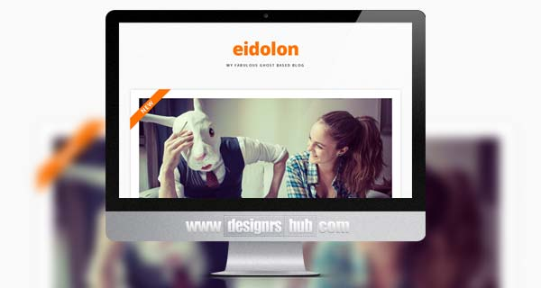 Eidolon - Responsive & Retina Ready Ghost Theme