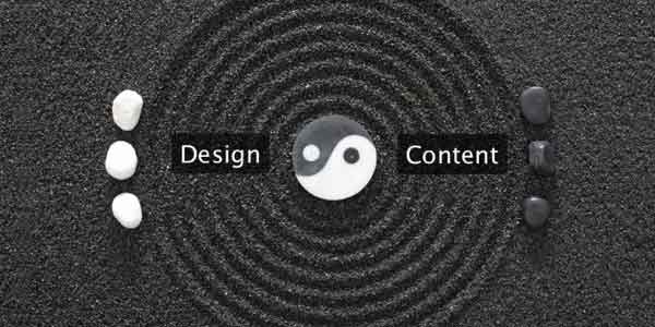 Content and Design go Hand in Hand