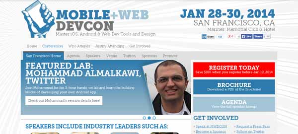 Mobile + Web DevCon - Master iOS, Android & Web Dev Tools and Design