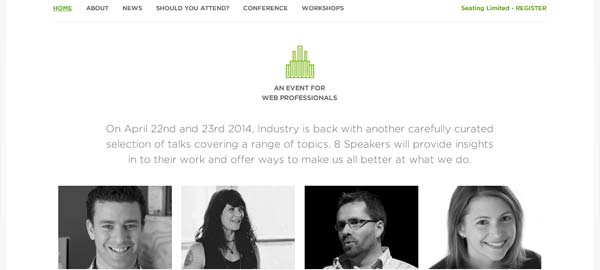 Industry Web Conference - An Event for Web Professionals