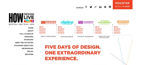 HOW Design Live Conference 2014: Web & Graphic Design Conference