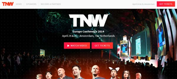 TNW - Europe Conference 2014