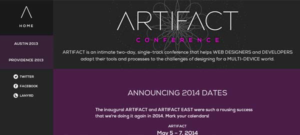 Artifact Conference 2014