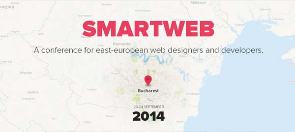 SmartWeb - A conference for East-European Web Designers and Developers