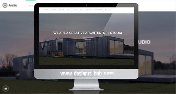 Arctic - Architecture & Creatives WordPress Theme