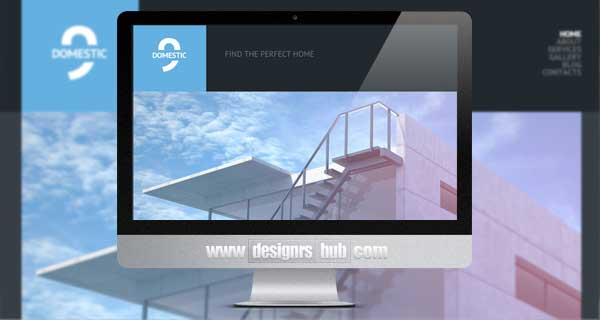 Black & White Construction Company WordPress Theme