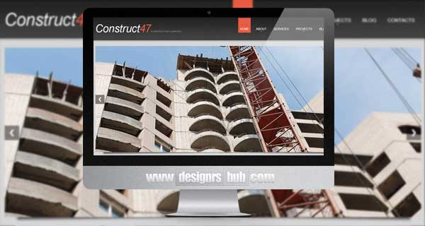 Architecture And Construction WordPress Theme