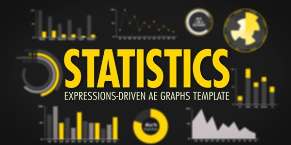 Statistics After Effects Template