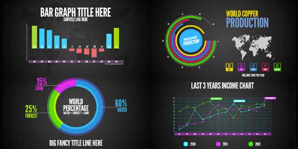 Infographics After Effects Templates