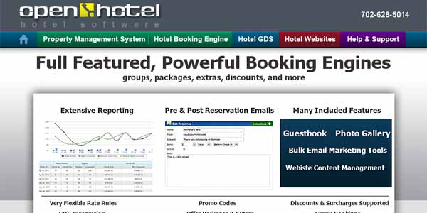 Hotel PMS and Online Booking Engine
