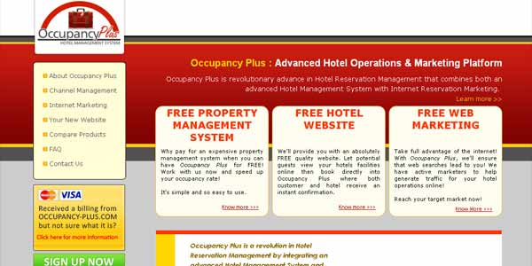 Occupancy Plus: Hotel Reservation Management System
