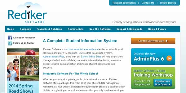 Rediker - School Administration Software
