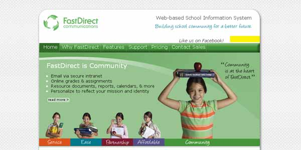 FastDirect - Web-based School Information System
