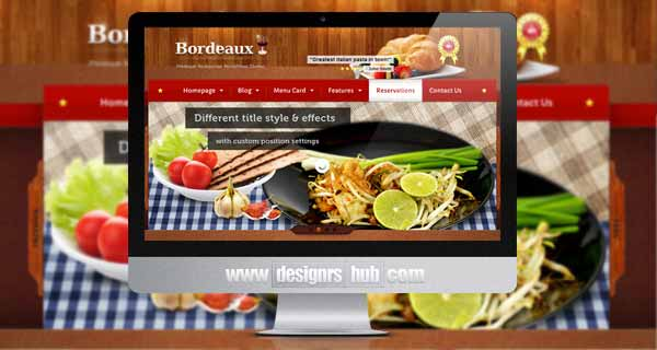 Wordpress themes with online reservation system