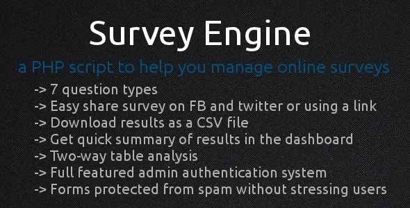 Survey Engine