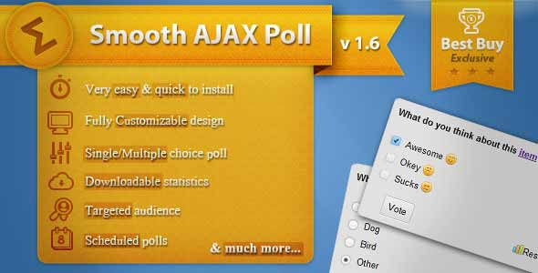 Smooth Ajax Poll