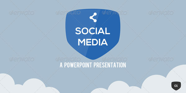12 social media powerpoint template presentations. Black Bedroom Furniture Sets. Home Design Ideas
