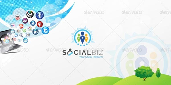 SocialBiz Professional Social Media Templates