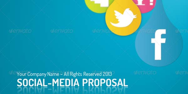 Social Media Proposal Templates Minimfagencyco - Social media proposal template