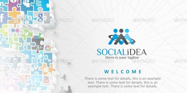 Socialidea: Social Media PowerPoint Templates