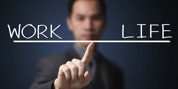 Separate your personal life with work