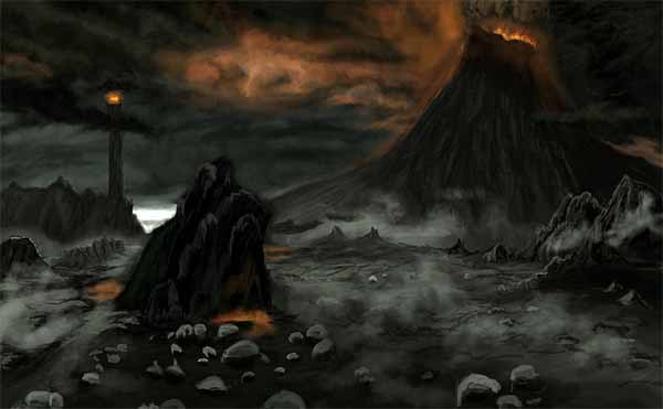 Mordor Speed Painting