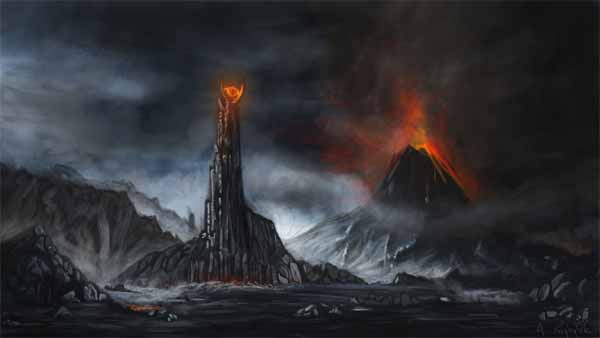 Mordor Artwork
