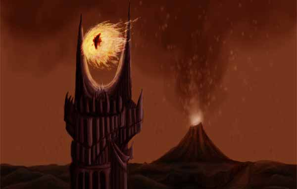One does not simply paint Mordor...
