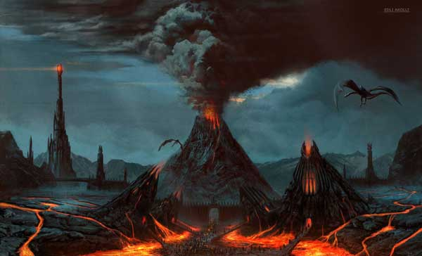 Mordor Illustrations