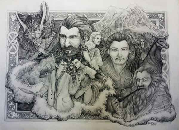 The Desolation of Smaug Sketch