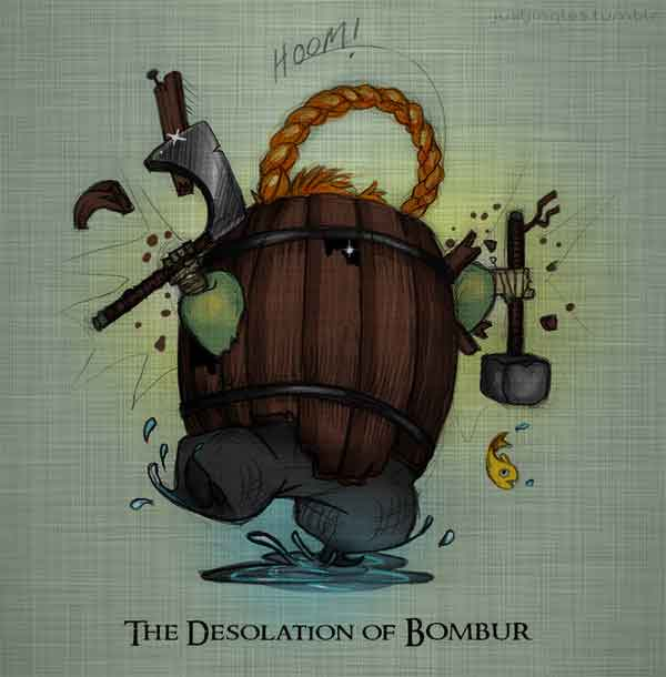 The Desolation of Bombur
