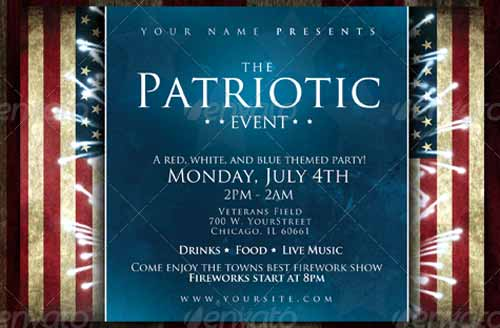 celebrating independence day 15 fourth of july flyer templates