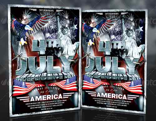free july 4th flyer templates ecza productoseb co
