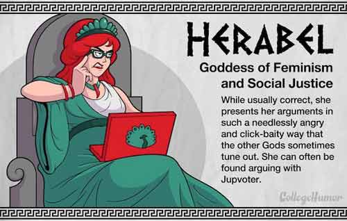 Herabel - Goddess of Feminism and Social Justice