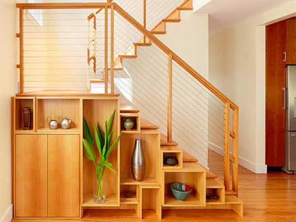 The Staircase Storage Solution