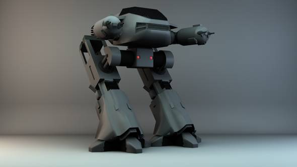 Welcome to the Future – 20 Modern 3D Robot Models
