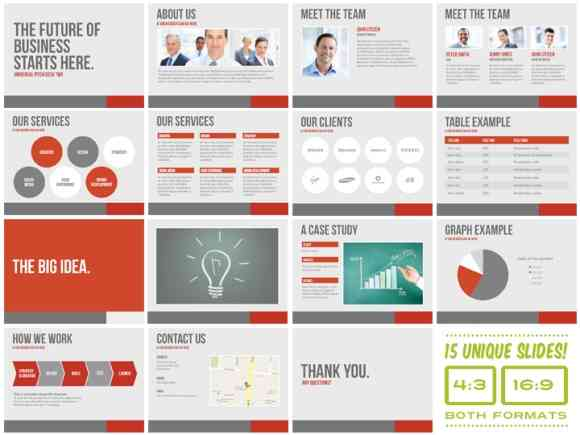 Create business presentations using powerpoint templates universal pitch deck two powerpoint flashek Choice Image