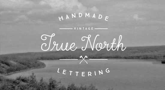 True North Font Pack